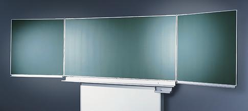 Wandklappschiebe-Tafel